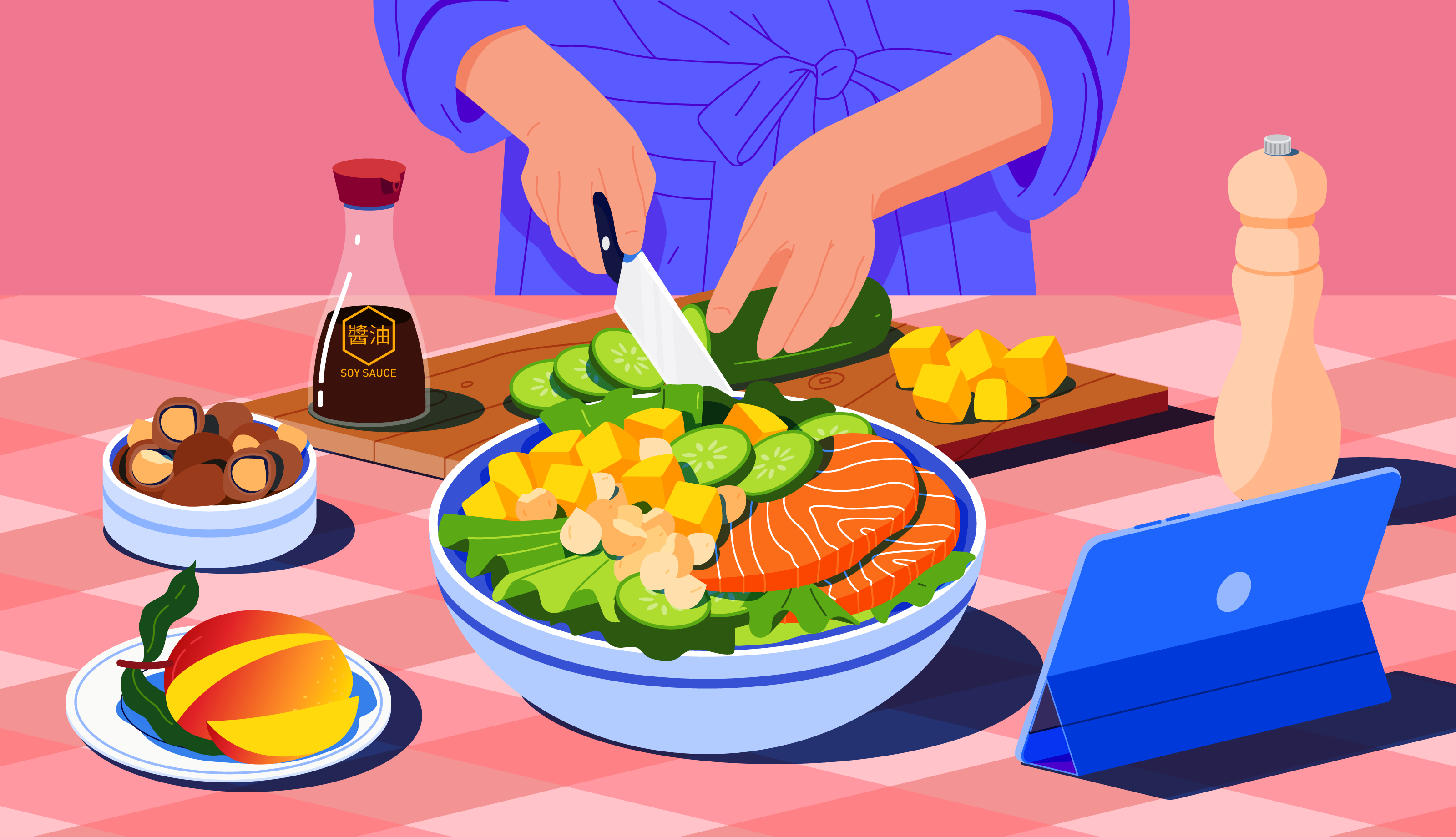 Eat-the-rainbow-salad